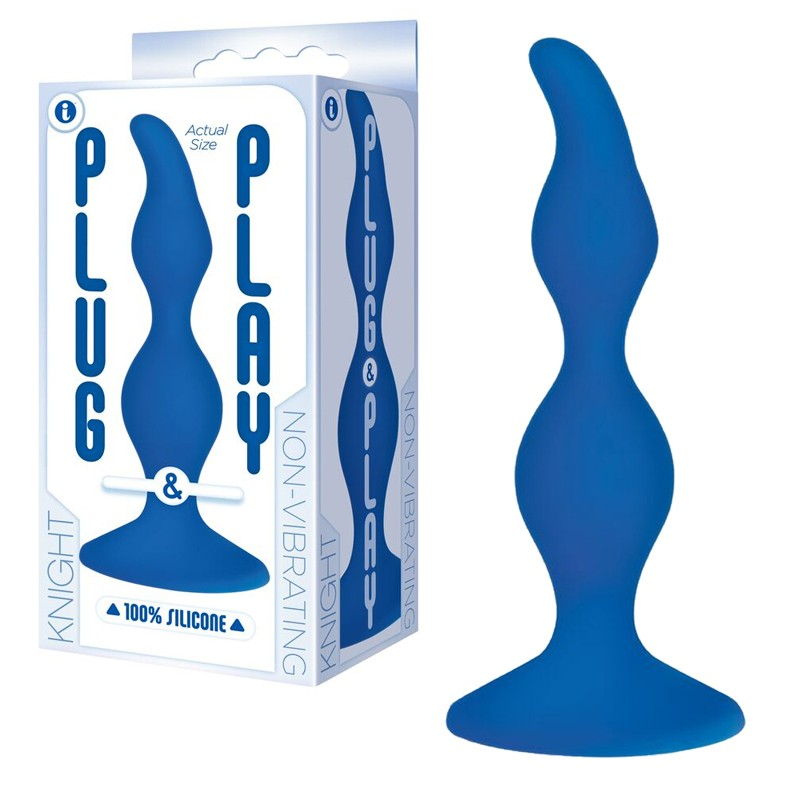 The 9's, Plug & Play, Silicone Plug, Knight, Blue