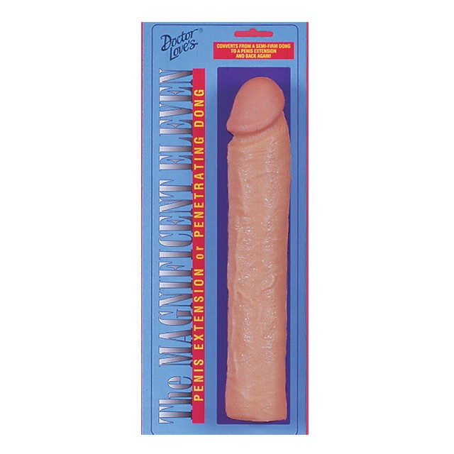 The Magnificent Eleven Penis Extension/Dong