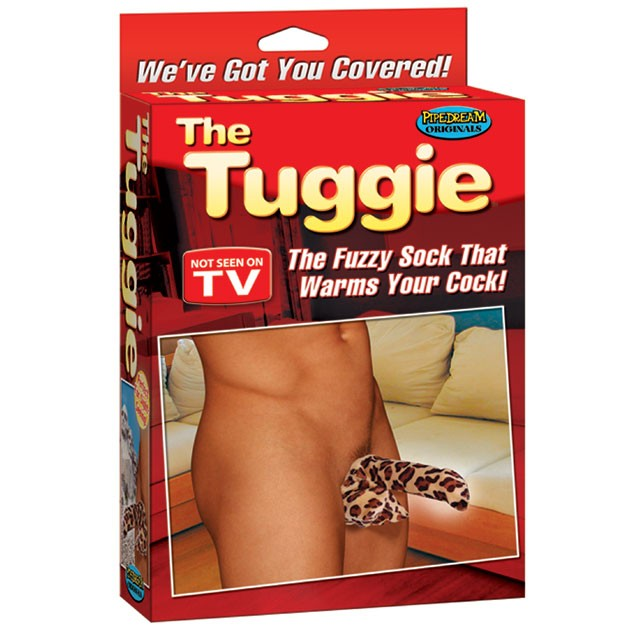The Tuggie: Fuzzie Sock For Your Cock