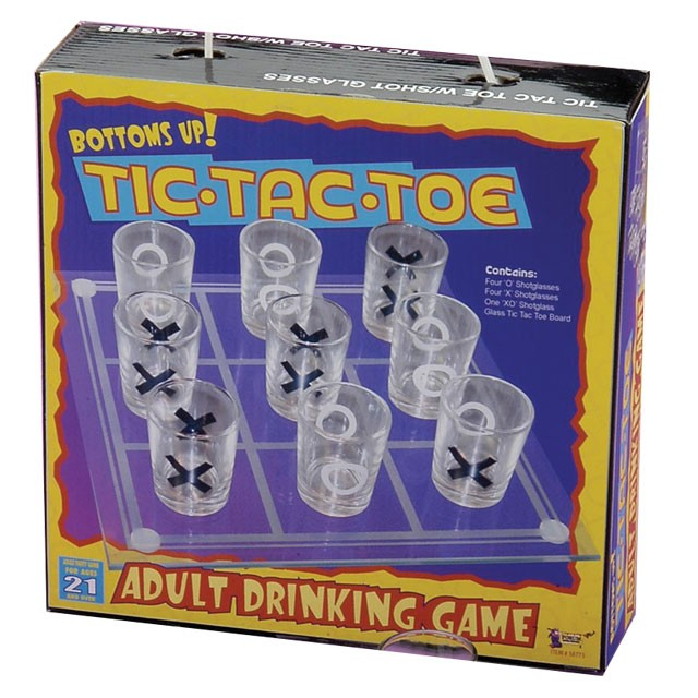 Tic Tac Toe (Drinking Game)