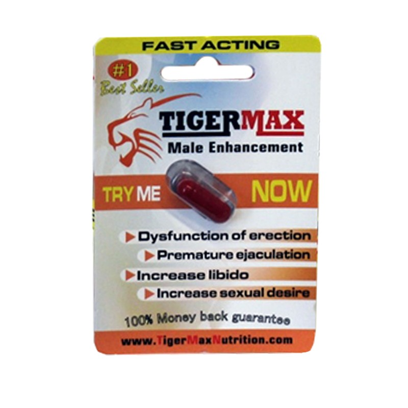 Tiger Max Male Enhancement 1ct (Open Stock)