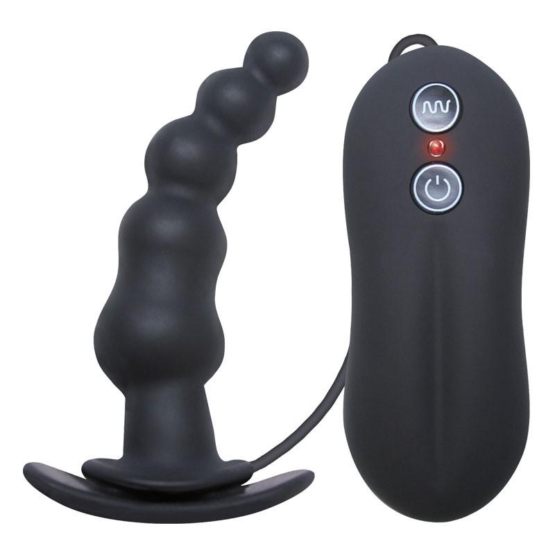 Tinglers I Vibrating Butt Plug- Black