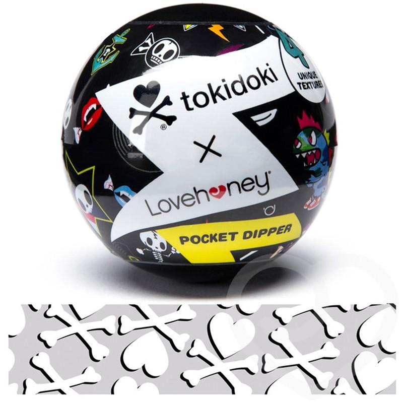 Tokidoki Bones Pocket Dipper Textured Pleasure Cup