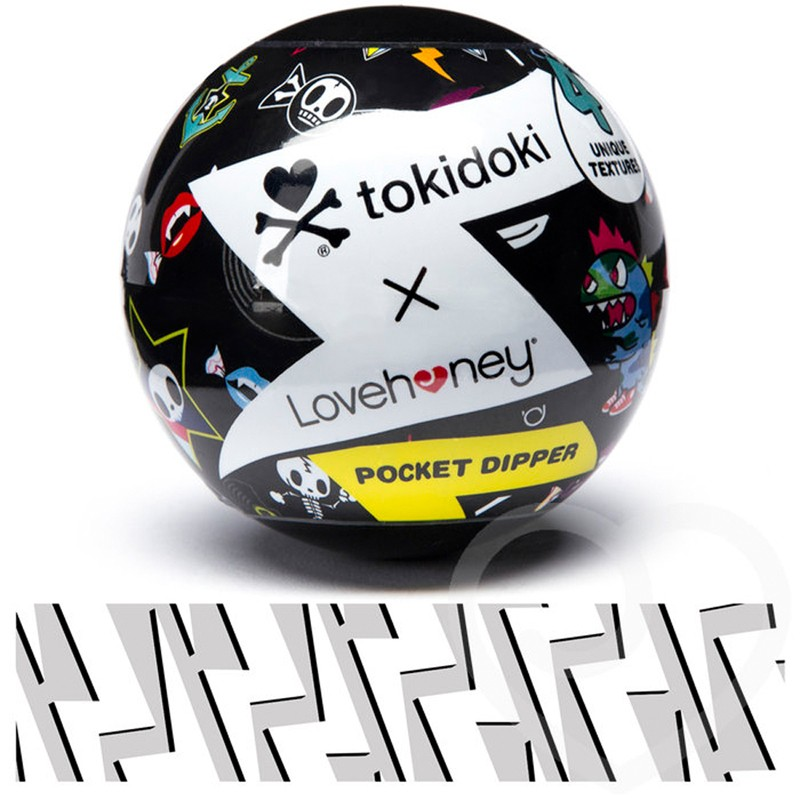Tokidoki Flash Pocket Dipper Textured Pleasure Cup