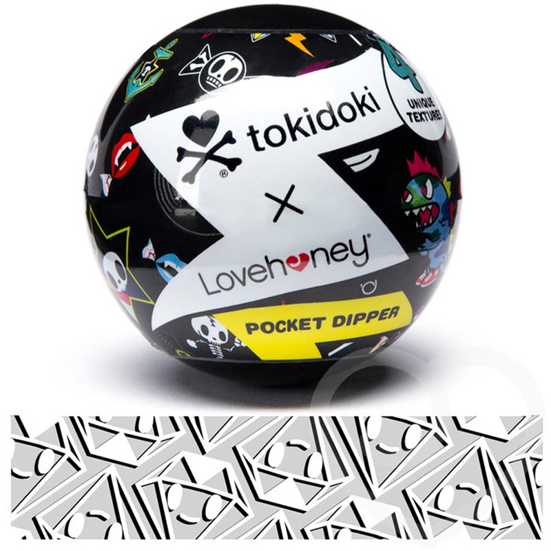 Tokidoki Solitaire Pocket Dipper Textured Pleasure Cup