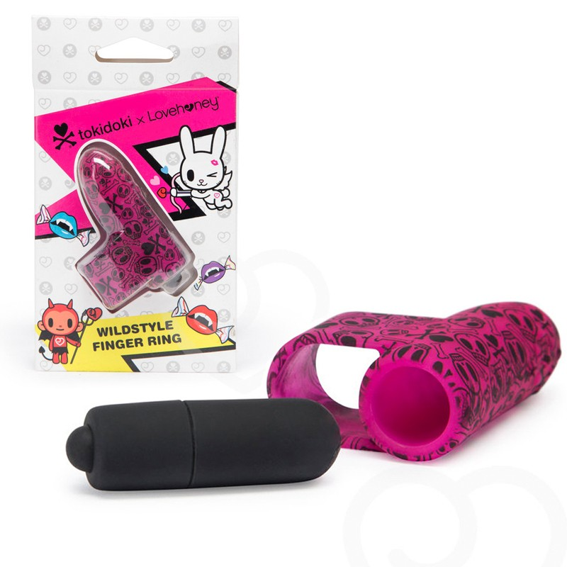 Tokidoki Wildstyle Finger Ring Silicone One Speed Waterproof