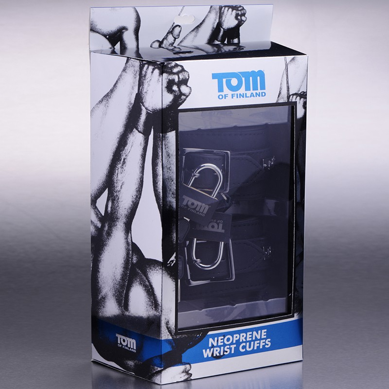 Tom of Finland Neoprene Wrist Cuffs