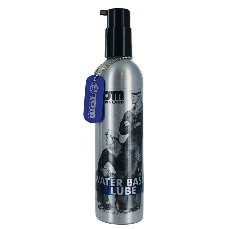 Tom of Finland Water-Based Lubricant 8oz