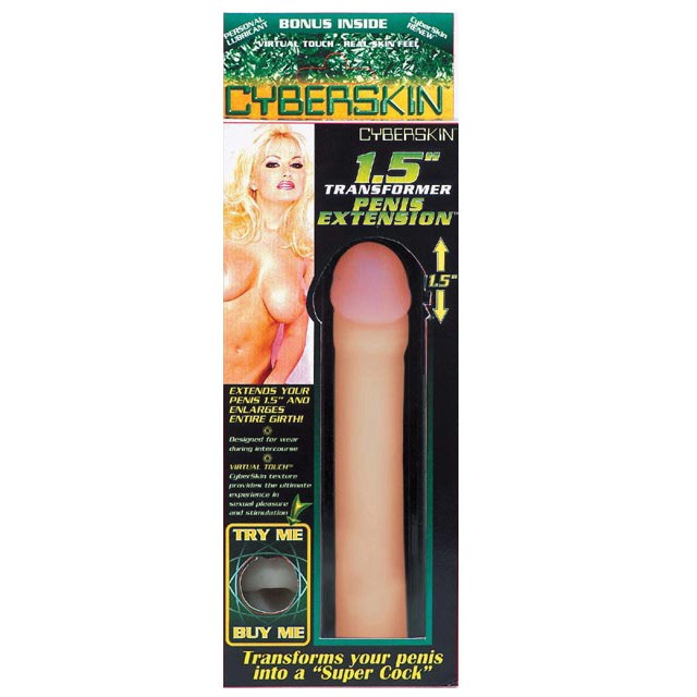 Transformer Penis Extension (Natural) 3in.