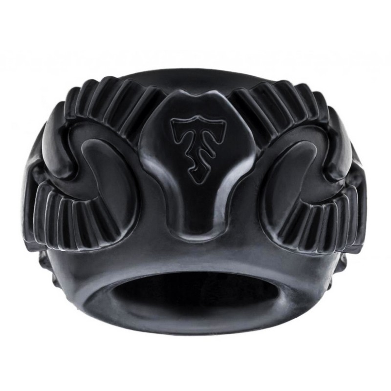 Tribal Son Ram Ring  - Black