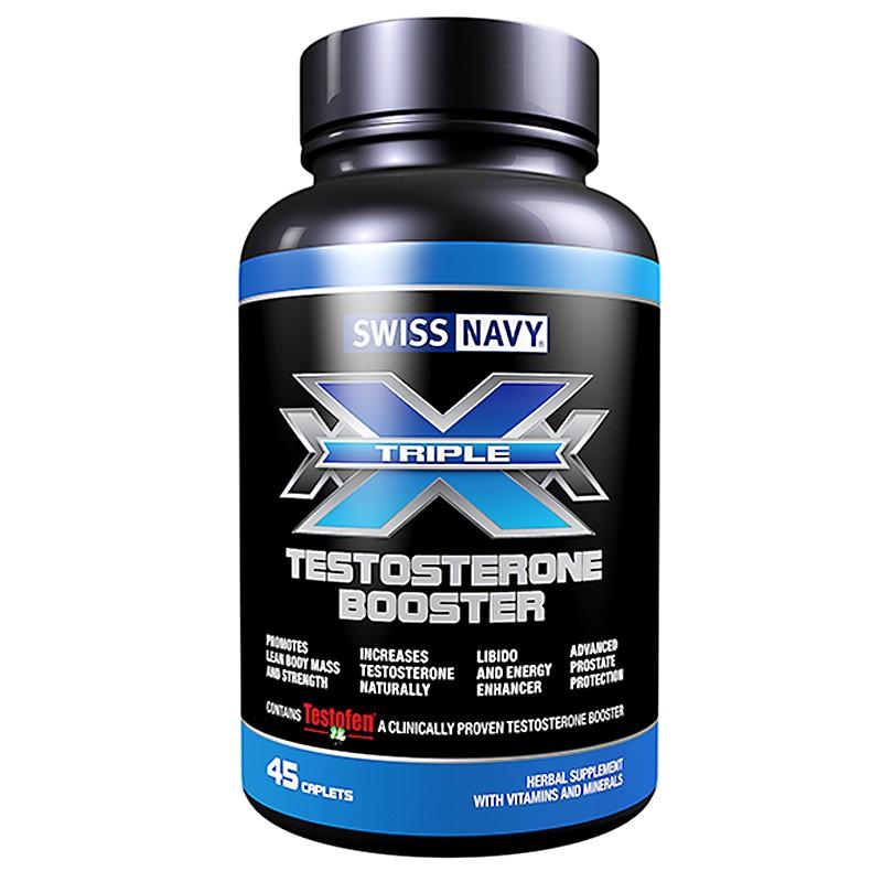 Triple X Testosterone 45ct. Bottle