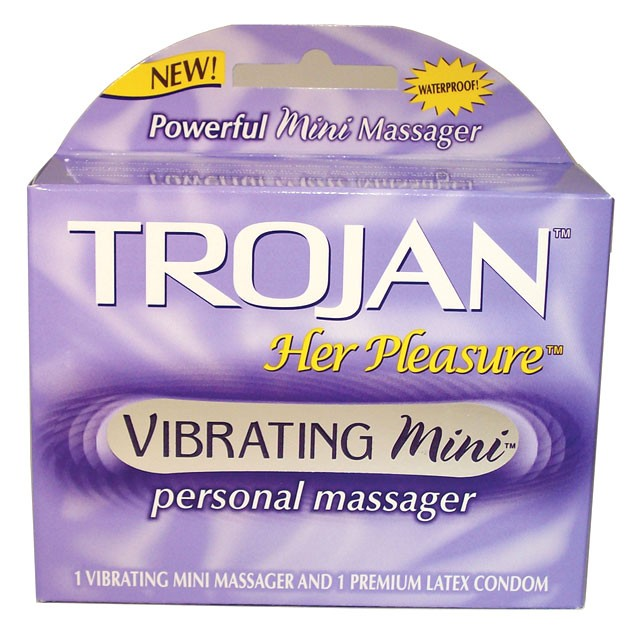 Trojan Her Pleasure Vibrating Mini Personal Massager