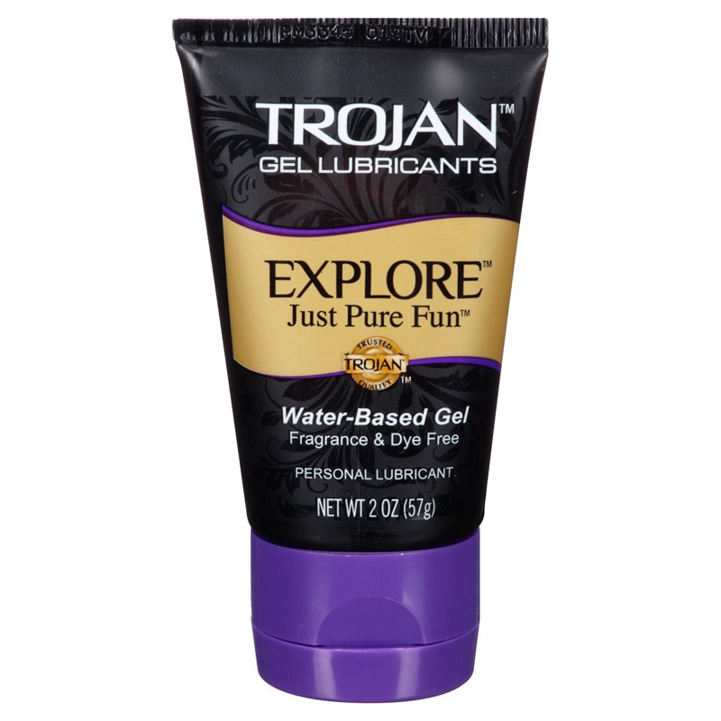 Trojan Lubricants Explore Water Based Gel 2oz.