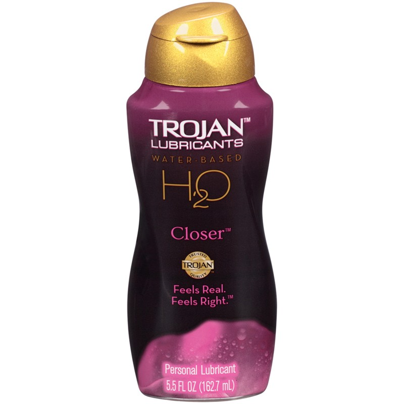Trojan Lubricants H2O Closer  5.5oz.