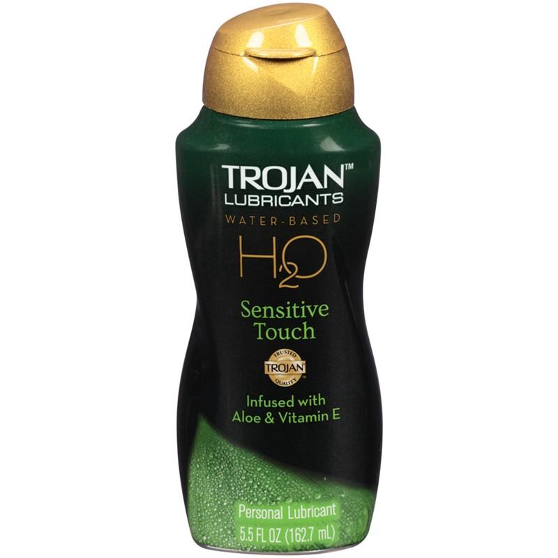 Trojan Lubricants H2O Sensitive Touch  5.5oz.