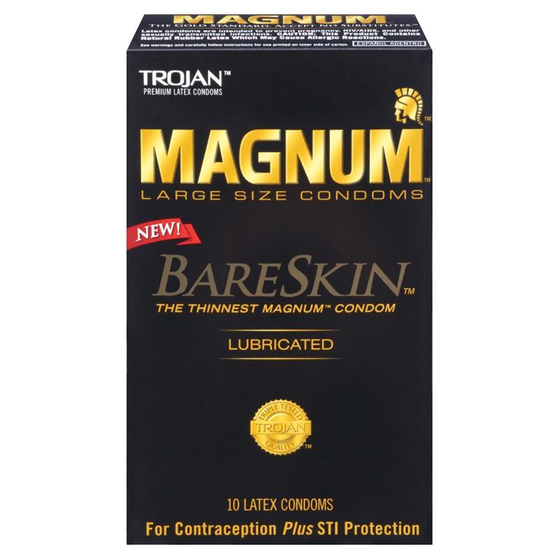 Trojan Magnum Bareskin Condoms (10)