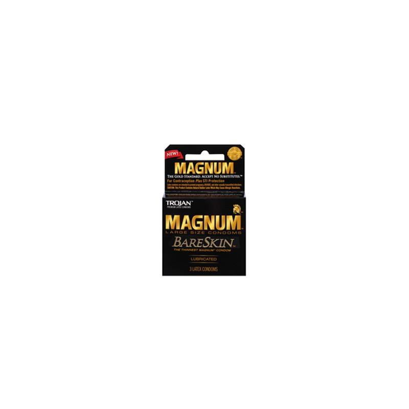 Trojan Magnum Bareskin Condoms 3pk