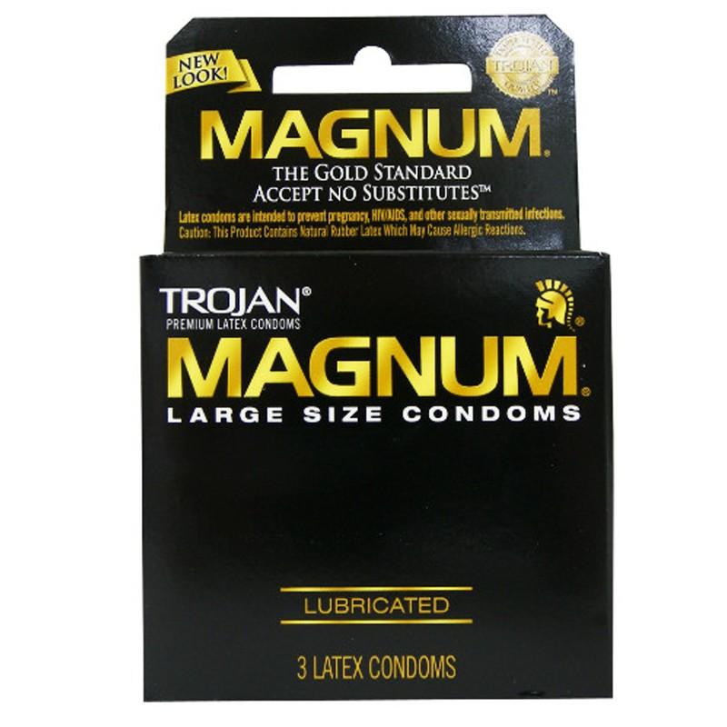 Trojan Magnum Larger Size Condoms