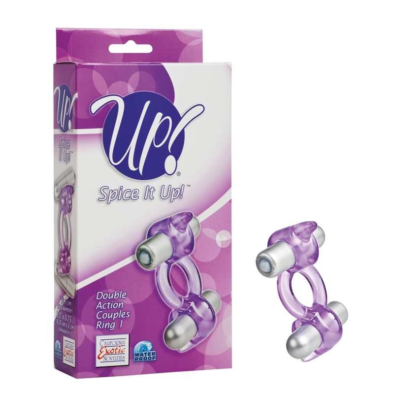 Up! Spice It Up! Double Action Couples Ring 1 - Purple