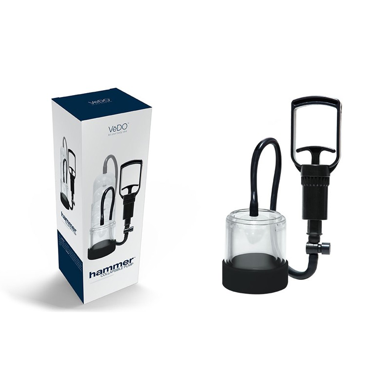 VeDO Hammer Collapsible Penis Pump - Just Black