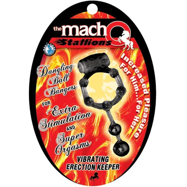 Vibrating Erection Keeper (Black)