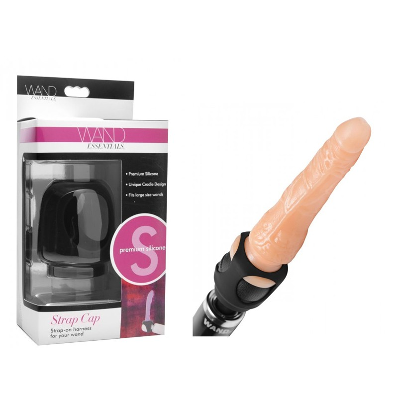 Wand Essentials Strap Cap Wand Harness For Dildos