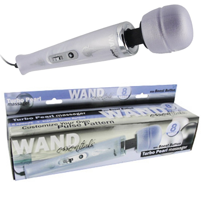 Wand Essentials Turbo Pearl Wand Lavender
