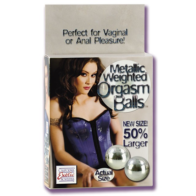 Weighted Orgasm Balls - Metallic