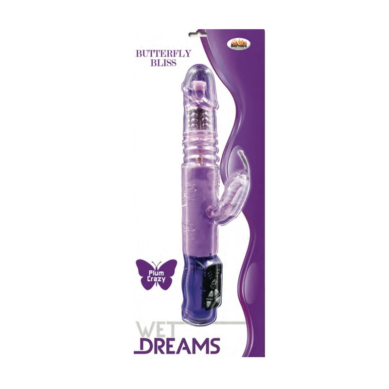 Wet Dreams Butterfly Bliss Mini Purple