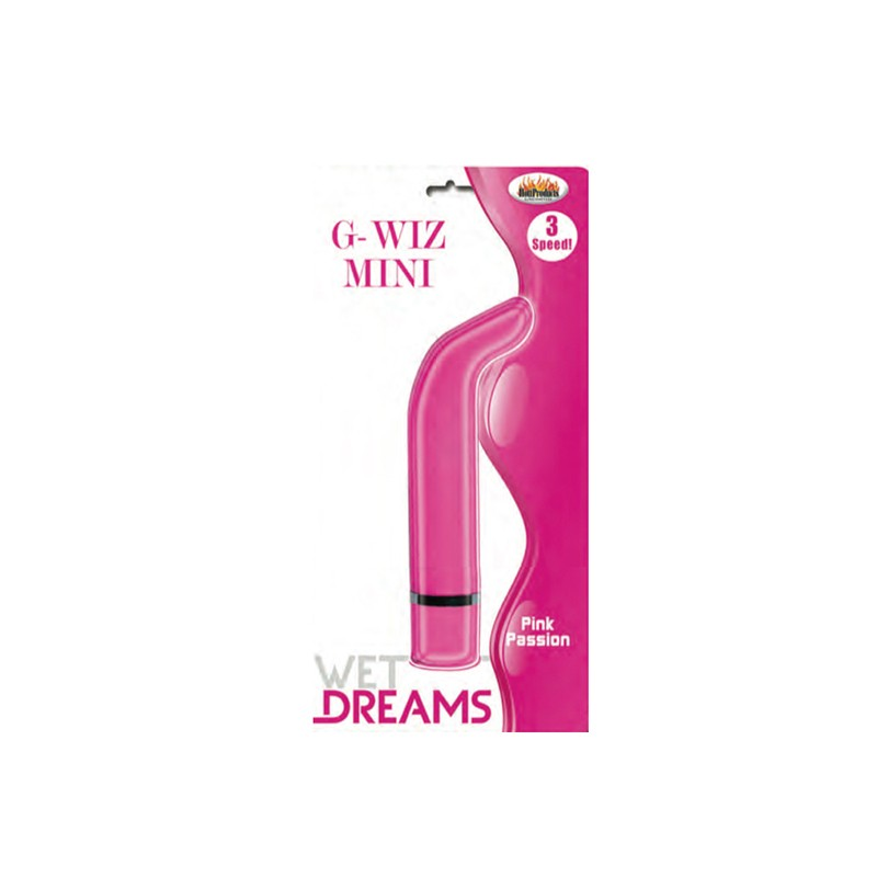 Wet Dreams G Wiz Mini Vibe Magenta