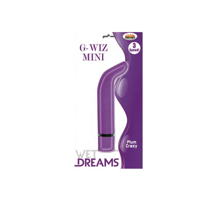 Wet Dreams G Wiz Mini Vibe Purple