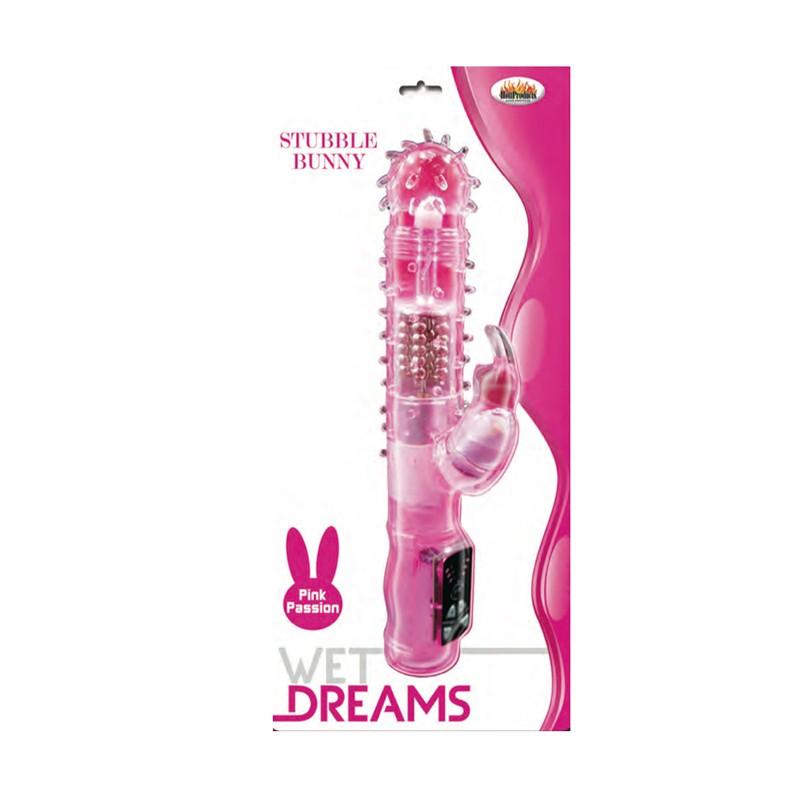 Wet Dreams Stubble Bunny Magenta