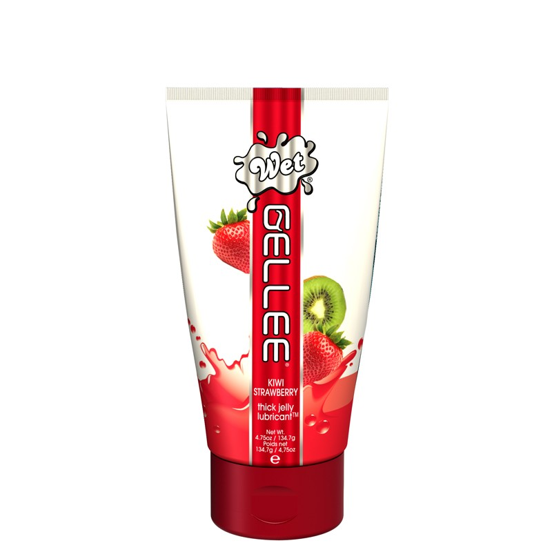 Wet Gellee Kiwi Strawberry 4.75oz/136g