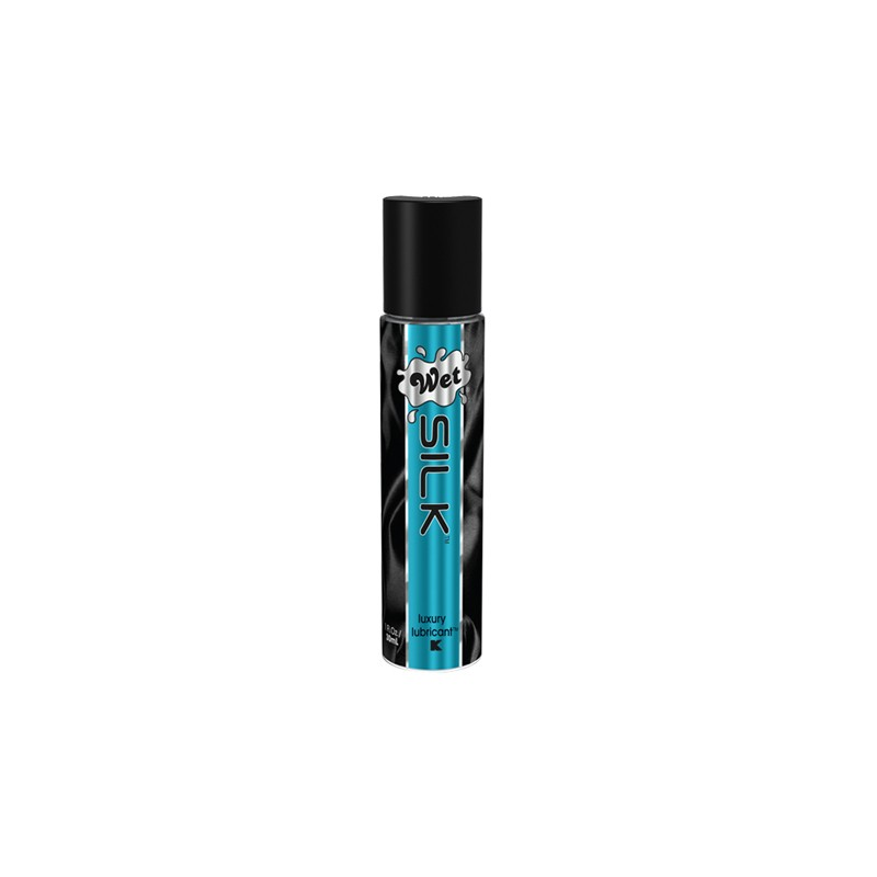 Wet Silk 1.0 fl oz / 30mL Hybrid Lubricant