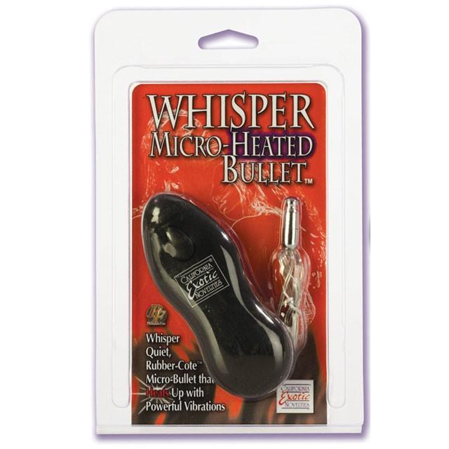 Whisper Micro-Heated Bullet™ - Black