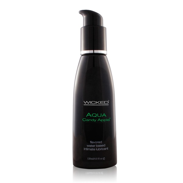Wicked Aqua Candy Apple Lube 4oz.