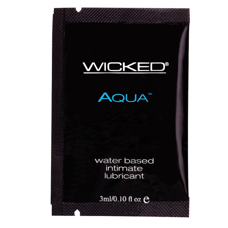 Wicked Aqua Lubricant Packette (DP/24)