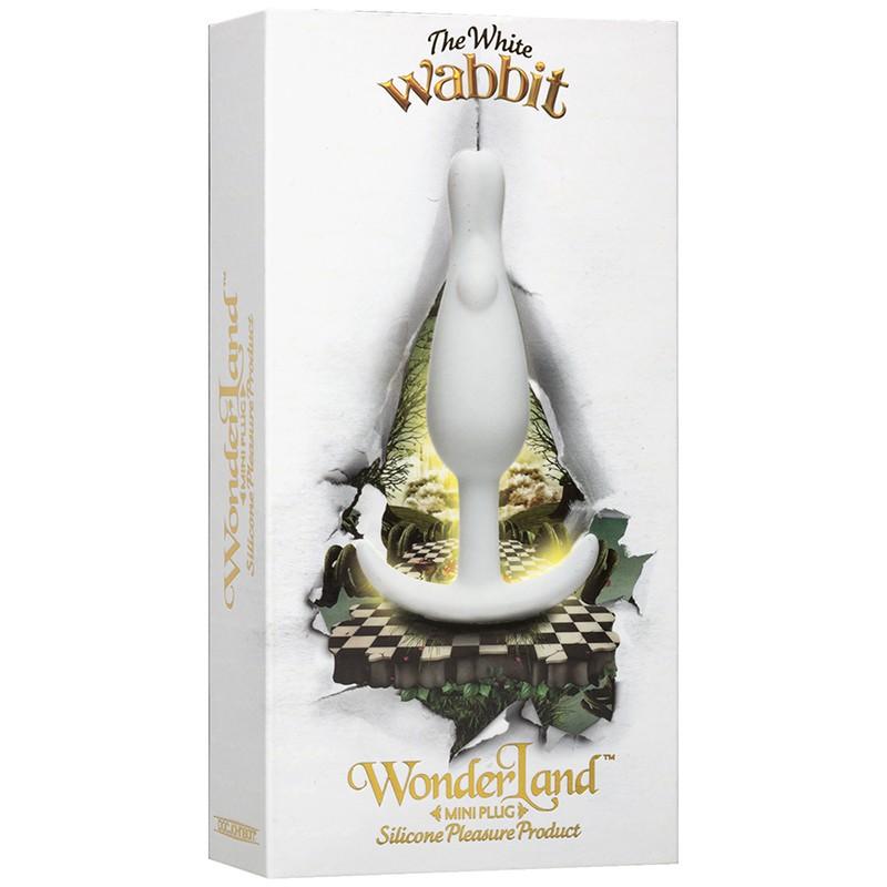 Wonderland Mini Plug The White Wabbit