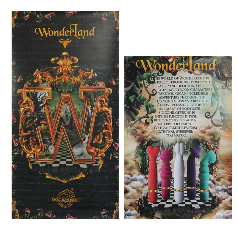 Wonderland Poster Pack (Doc) 2pk.