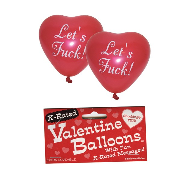 X-Rated Valentine Balloons