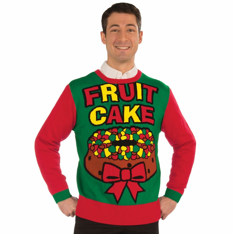 Xmas Sweater Fruit Cake L/XL