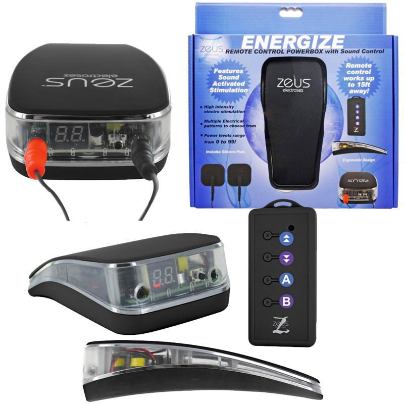 Zeus Energize Remote Control Powerbox