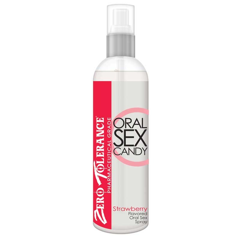 ZT Oral Sex Candy, Strawberry, 2oz