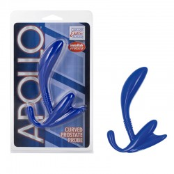 Apollo Curved Prostate Probe - Blue