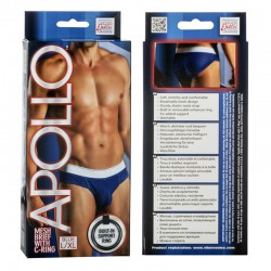 Apollo Mesh Brief with C-Ring - Blue L/XL