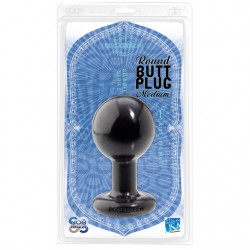 Ball Shape Anal Plug (Large/Black)