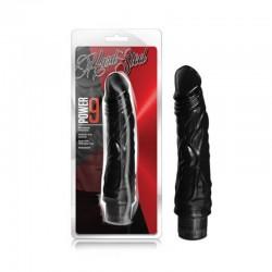 Blush Hard Steel Power 9 7.5in. Multispeed Waterproof Vibe (Black)