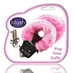 Blush Play Time Cuffs With Fur (Pink)