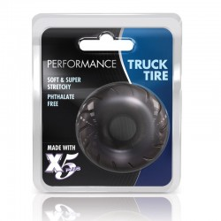 Blush Truck Tire Cock Ring (Black)
