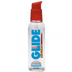Body Action Anal Glide Extra 2 fl oz Water Based Desensitizing Lubricant